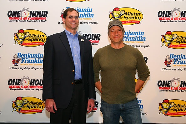 Mike Rowe supports One Hour AC services in Albion MI.