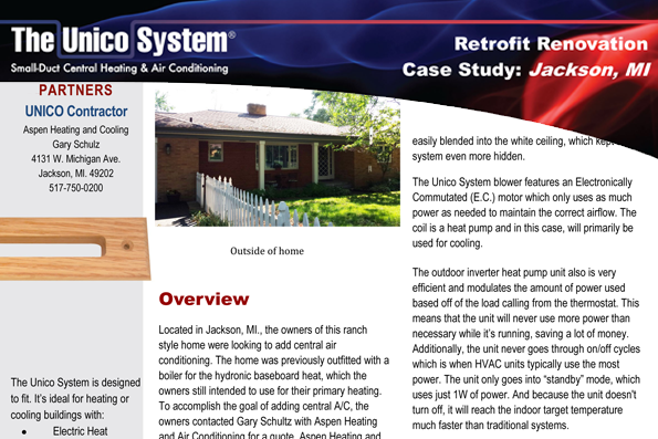 Read how Aspen One Hour is featured for their elite AC repair service in Jackson MI.